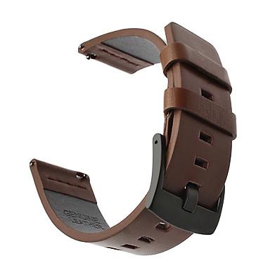 Недорогие Ремешки для часов Huawei-Ремешок для часов для Watch 2 Pro Huawei Спортивный ремешок Натуральная кожа Повязка на запястье