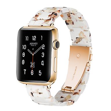 رخيصةأون أساور ساعات هواتف أبل-حزام إلى أبل ووتش سلسلة 5/4/3/2/1 Apple بكلة كلاسيكية خزفي شريط المعصم
