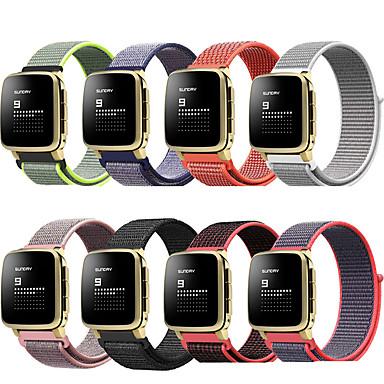 voordelige Smartwatch-accessoires-Horlogeband voor Pebble Time / Pebble Time Steel Pebble Sportband Nylon Polsband