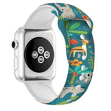 Недорогие Ремешки для Apple Watch-полоса smartwatch движения силикагеля для серии вахты 4/3/2/1 iwatch яблока