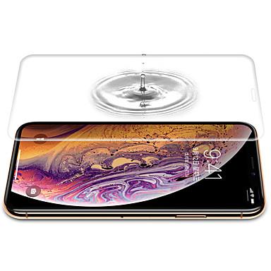 voordelige iPhone screenprotectors-AppleScreen ProtectoriPhone XS High-Definition (HD) Volledige behuizing screenprotector 1 stuks TPU Hydrogel