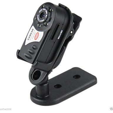 رخيصةأون كاميرات المراقبة IP-Q7 اللاسلكية واي فاي كاميرا P2P مصغرة DV ليلة الرؤية الأشعة تحت الحمراء مسجل فيديو DVR