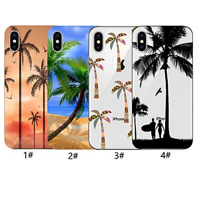 voordelige iPhone-hoesjes-hoesje voor apple iphone xr / iphone xs max patroon achterkant boom soft tpu voor iphone x xs 8 8plus 7 7plus 6 6plus 6s 6s plus