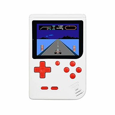 olcso Játékkonzolok-fc280 retro kézi játékjátékos gyerekeknek hordozható játékrendszer videojáték-lejátszó 3 hüvelykes lcd beépített 400 klasszikus játék