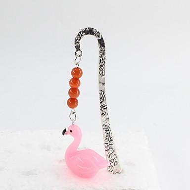 divat ötvözet / gyanta flamingo pandent könyvjelző irodai szabadidős irodaszerekhez