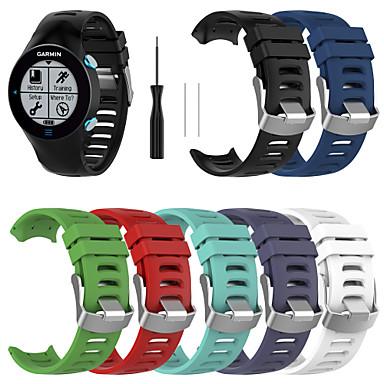 Недорогие Аксессуары для мобильных телефонов-SmartWatch группа для Garmin Forerunner 610 силиконовые спортивные группы моды мягкий ремешок