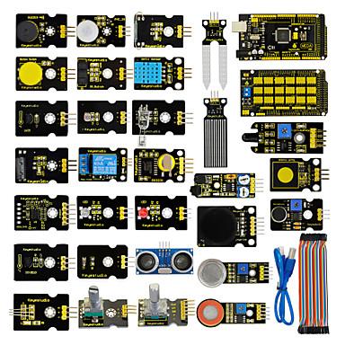 olcso KIT-érzékelő indító készlet arduino oktatási projekthez mega 2560 + pajzs v1 + érzékelőkkel + dupont kábel + pdf (online)