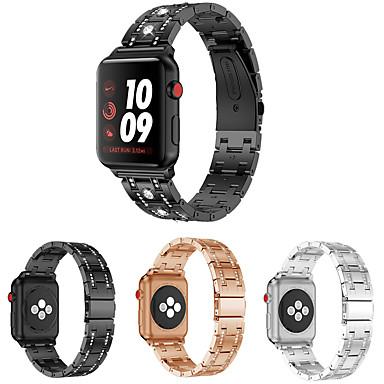 preiswerte Smartwatch-Zubehör-Uhrenarmband für Apple Watch Series 5/4/3/2/1 Apple Schmuckdesign Edelstahl Handschlaufe