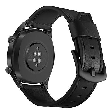 levne Shlédnout pásy pro Huawei-Watch kapela pro Huawei Watch GT Huawei Moderní spona Pravá kůže Poutko na zápěstí