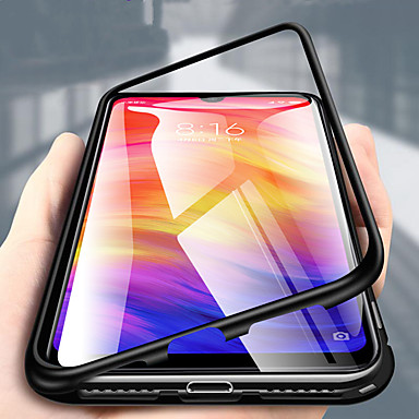 رخيصةأون Huawei أغطية / كفرات-غطاء من أجل Huawei Huawei P20 / Huawei P20 Pro / Huawei P20 lite شفاف غطاء كامل للجسم لون سادة قاسي معدن