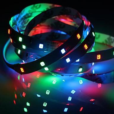 رخيصةأون شرائط ضوء مرنة LED-1 قطعة ip20 rgb 300 led قطاع الخفيفة 5 متر 60 المصابيح / م smd 2835 أبيض دافئ أبيض أصفر أحمر أخضر أزرق led قطاع 12 فولت للربط / ذاتية اللصق / التلفزيون خلفية مرنة الشريط حبل الشريط