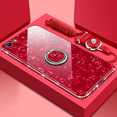 Недорогие Кейсы для iPhone-роза чехол для apple iphone 11 iphone xr bling bling зеркало задняя крышка iphone чехол сплошной цвет твердый закаленный стеклянный чехол для iphone 11pro 11promax xs iphone xs max