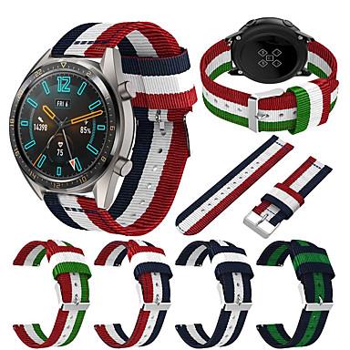 Недорогие Ремешки для часов Huawei-Ремешок для часов для Huawei Watch GT / Watch 2 Pro Huawei Спортивный ремешок Материал / Нейлон Повязка на запястье