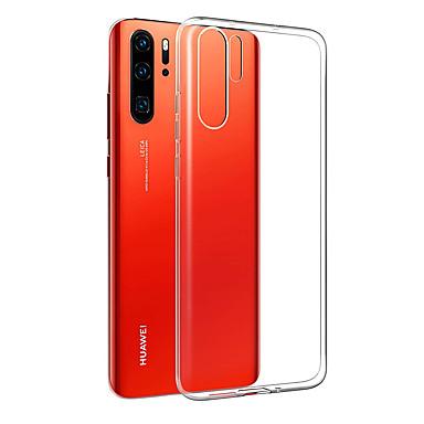 غطاء من أجل Huawei Huawei P20 / Huawei P20 Pro / Huawei P20 lite ضد الصدمات / نحيف جداً غطاء خلفي شفاف ناعم TPU / P10 Plus / P10 Lite / P10