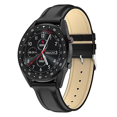 povoljno Muški satovi-l7 smartwatch ip68 vodootporna fitness narukvica tracker ručni sat ecg mjerač brzine otkucaja srca podsjetnik pametni sat