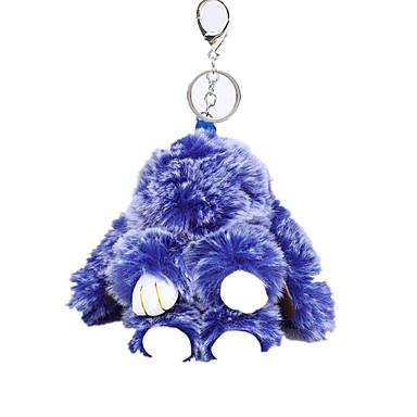 ieftine Breloc-breloc Rabbit Animal Casual Modă Inele la Modă Bijuterii Mov / Galben / Albastru Pentru Zilnic Stradă