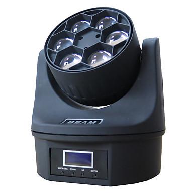 olcso Beépített LED világítás-1 készlet vezetett színpadfény dmx512 hangvezérlés 6 gyöngyszem mozgó fejjel fények fények dj bár bálterem dekoráció fények