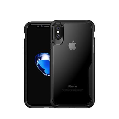voordelige iPhone-hoesjes-hoesje Voor Apple iPhone XS / iPhone XR / iPhone XS Max Schokbestendig Achterkant Effen Zacht TPU