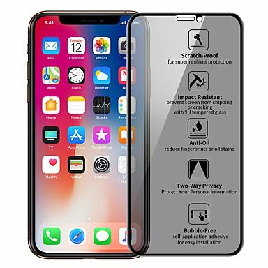 voordelige iPhone screenprotectors-privacy bescherming film gehard glas voor iphone x xr xs max screen protector voor iphone 7 8 6s plus anti peeping beschermend