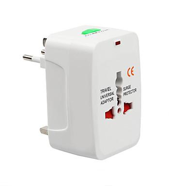 baratos Carregadores Rápidos-tudo em um plugue elétrico tomada adaptador de viagem universal para ue us uk au