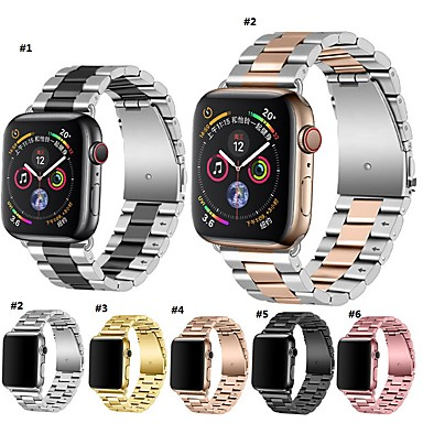 povoljno Apple Watch remeni-Pogledajte Band za Apple Watch Series 5/4/3/2/1 / Apple Watch Series 4 Apple Moderna kopča Nehrđajući čelik Traka za ruku