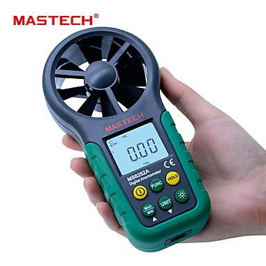 mastech ms6252a ručni digitalni anemometar mjerač brzine vjetra mjerač protoka zraka mjerenje volumena zraka tm