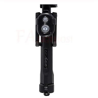 Недорогие Bluetooth палка для селфи-Палка для селфи Bluetooth С возможностью удлинения Максимальная длина 75 cm Назначение универсальный Android / iOS