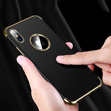 Недорогие Кейсы для iPhone 7 Plus-Кейс для Назначение Apple iPhone XS / iPhone XR / iPhone XS Max Защита от удара / Защита от влаги / Покрытие Кейс на заднюю панель Однотонный Мягкий ТПУ