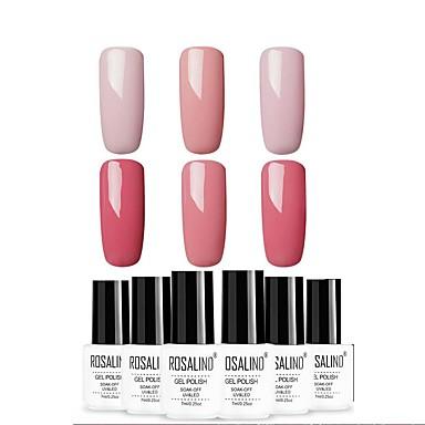 Lak za nokte UV gel 7 ml 6 pcs Glamur Soak off dugotrajnim Glamur Kreativan / Divan / Šarene