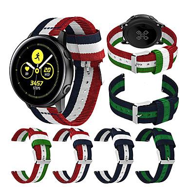 voordelige Smartwatch-accessoires-Horlogeband voor Gear Sport / Gear S2 Classic / Samsung Galaxy Active Samsung Galaxy Sportband Stof / Nylon Polsband