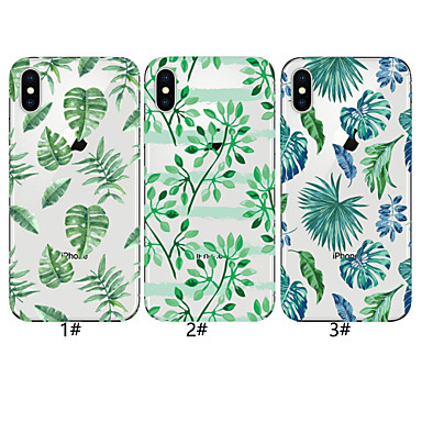 voordelige iPhone-hoesjes-hoesje voor apple iphone xr / iphone xs max patroon achterkant boom soft tpu voor iphone 6 6 plus 6s 6s plus 7 8 7 plus 8 plus x xs
