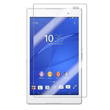 olcso Sony képernyővédők-edzett üveg képernyővédő fólia Sony Xperia z3 kompakt 8,0-as tabletta képernyőtisztító eszközökkel