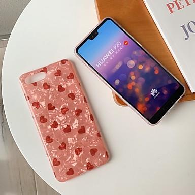 voordelige iPhone-hoesjes-hoesje Voor Apple iPhone XS / iPhone XR / iPhone XS Max Patroon Achterkant Hart Zacht Siliconen