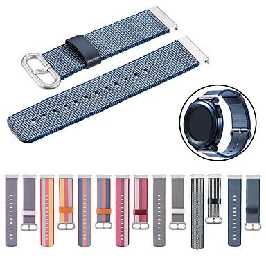 voordelige Smartwatch-accessoires-Horlogeband voor LG G Watch W100 / LG G Watch R W110 / LG Watch Urbane W150 LG Sportband Stof / Nylon Polsband