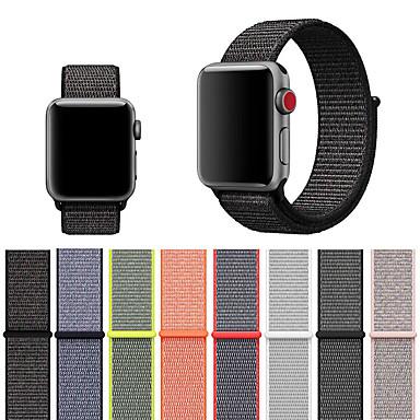 povoljno Apple Watch remeni-remen za sat jabuka 4/3/2/1 tkani najlon loopback mekana prozračna zamjena velcro sportska traka za sat iwatch 40mm 44mm 42mm 38mm