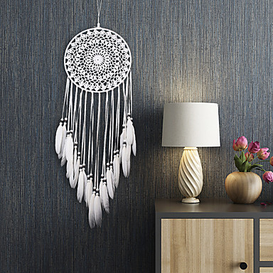 Χαμηλού Κόστους Διακοσμητικά Τοίχου-Ονειροπαγίδα - Φτερό Βοημία 1 pcs Διακοσμητικά τοίχου