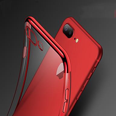Недорогие Кейсы для iPhone 7-Кейс для Назначение Apple iPhone XS / iPhone XR / iPhone XS Max Защита от удара / Покрытие Кейс на заднюю панель Однотонный Мягкий ТПУ