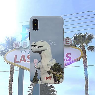voordelige iPhone-hoesjes-hoesje Voor Apple iPhone XS / iPhone XR / iPhone XS Max Mat Achterkant dier Zacht Siliconen