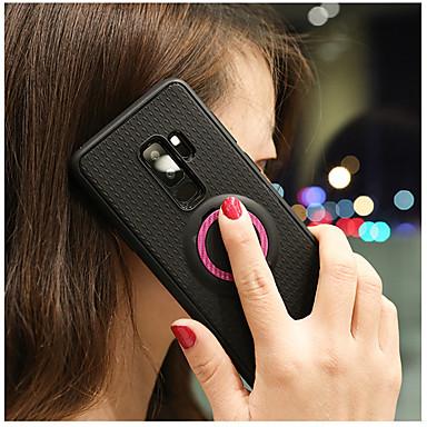 voordelige Galaxy A-serie hoesjes / covers-hoesje Voor Samsung Galaxy A6 (2018) / A6+ (2018) / Galaxy A7(2018) met standaard / Ringhouder Achterkant Effen Zacht TPU