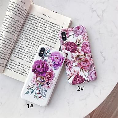 Недорогие Кейсы для iPhone-чехол для яблока iphone xr / iphone xs max pattern / с подставкой на задней крышке цветочное мягкое тпу для iphone 6 6 плюс 6s 6s плюс 7 8 7 плюс 8 плюс x xs