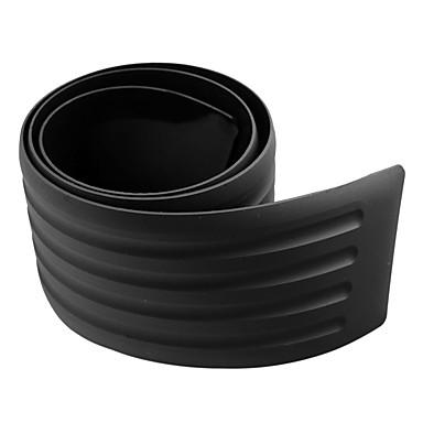 billige Bilutvendig tilbehør-bagasjeromsbeskyttelseslist 90 * 8cm støtfanger anti-kollisjon anti-riper gummilist