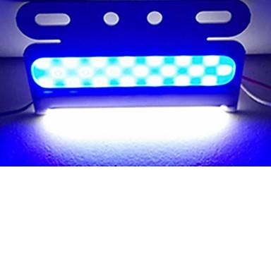 Недорогие Противотуманные фары-Sencart 6 шт. мигающий аварийное предупреждение боковой маркер маяк опасности стробоскоп светодиодный початок 24 В