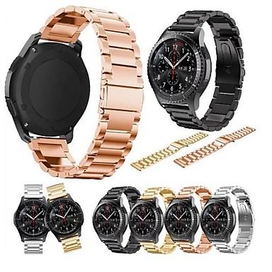 billige Telefontilbehør-Klokkerem til Samsung Galaxy Watch 46 Samsung Galaxy Sportsrem Metall Håndleddsrem