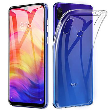Недорогие Чехлы и кейсы для Xiaomi-Кейс для Назначение Xiaomi Xiaomi Redmi Note 7 / Xiaomi Redmi Note 7 Pro / Xiaomi Redmi 7 Ультратонкий / Прозрачный Кейс на заднюю панель Прозрачный Мягкий ТПУ