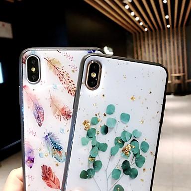 voordelige iPhone-hoesjes-hoesje voor apple iphone xs max / iphone x glitter shine / doorschijnende achterkant boom hard tpu voor iphone 6 / iphone 6 plus / iphone 6siphone6 / 6s / 6plus / 6s plus / 7/8/7 plus / 8 plus / x /