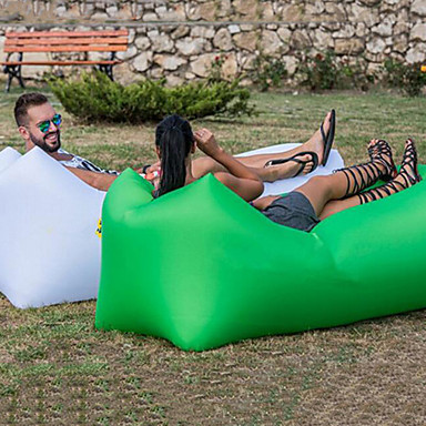 olcso Táborozás kiegészítők, ágynemű-Felfújható kanapé Felfújható matracok Légfotel Design-ideális kanapé Külső Kemping Vízálló Hordozható Párásodás gátló Oxford 260*70 cm Kempingezés és túrázás Tengerpart Utazás mert 1 személy Tavasz