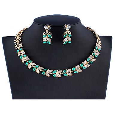 Fashion Rhinestone Chicken Mermaid Pendant Crystal Necklace Statement Chain Gift