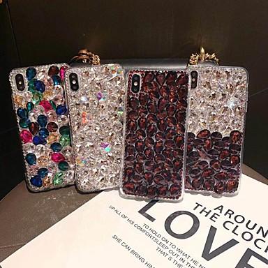 voordelige iPhone 6 hoesjes-geval voor apple iphone xs 6s plus / iphone 8 plus schokbestendig achterkant glitter shine zachte tpu voor iphone 6 / iphone 6 plus / iphone 6s