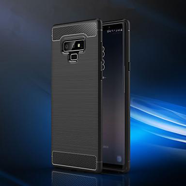 Недорогие Чехлы и кейсы для Galaxy Note-Кейс для Назначение SSamsung Galaxy Note 9 / Note 8 Защита от пыли / Ультратонкий Кейс на заднюю панель Однотонный Мягкий ТПУ