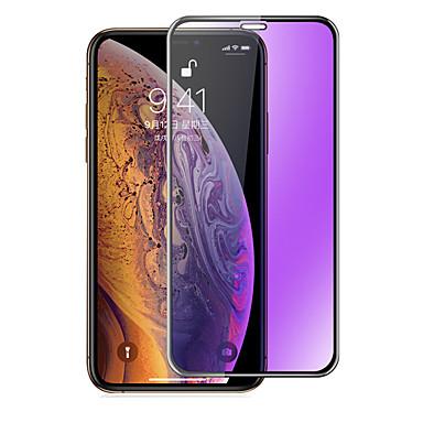 voordelige iPhone screenprotectors-AppleScreen ProtectoriPhone XS Anti-blauw licht Voorkant screenprotector 1 stuks Gehard Glas